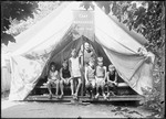 Boy In 'honor' Tent With Counselor Camp Monadnock by George French