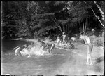 Boys At Lake Swimming (Skinny Dipping) by George French
