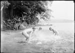 Boys Skinny Dipping In A Lake by George French