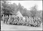 Boy Scouts Of America 'Honor Group' (Bear Mtn.) by George French
