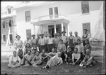 Carpenter Crew Outside Parsonsfield Seminary by George French