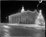 Municipal Building At Christmas, Bloomfield, New Jersey by George French