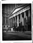 Federal Hall With Statue Of George Washington, Wall Street, New York, Ny by George French