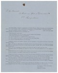 1857-02-23 Referral to Maine Legislature of suffrage petition of Antoinette Blackwell, Lucy Stone, and Ernestine Rose by Maine Legislature