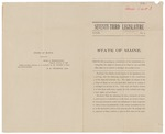 1907-01-10 Tabled resolves regarding suffrage amendment to Maine Constitution by Maine Legislature