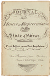 House Journal 1820 by Maine State Legislature (1st: 1820-1821)