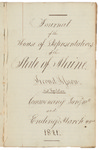 House Journal 1821 Volume 1 by Maine State Legislature (1st: 1820-1821)