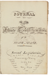 House Journal 1822 by Maine State Legislature (2nd: 1822)