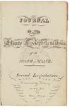 House Journal 1822