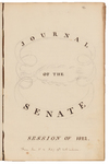 Senate Journal 1822, 1st Session
