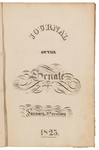 Senate Journal 1823
