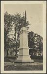 Soldiers' Monument, Bridgton, ME, 1910