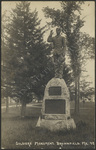 Soldiers' Monument, Brownfield, ME