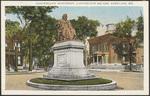 Longfellow Monument, Longfellow Square, Portland, ME