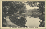 The Lake Walk, Deering Oaks Park, Portland, ME