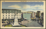 Monument Square and Business Section, Portland, ME