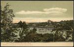View of Great Diamond from Peaks Island, Portland, ME
