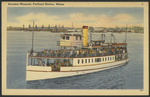 Steamer Maquoit, Portland Harbor, Portland, ME
