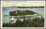 Pumkin Knob and Long Island, from Peaks Island, ME