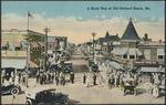 A Busy Day at Old Orchard Beach, ME