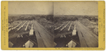 Panoramic View of Burnt District, Looking Down Congress Street, Portland, ME by J. P. Soule