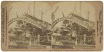 """Wreck of U.S.S. """"Maine"""" Details of the Wreck, Havana Harbor"""