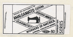 Union Made label by Amalgamated Clothing Workers of America