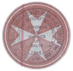 Label by Sovereign Order of Saint John of Jerusalem, Inc. Knights of Malta