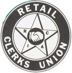 Union emblem by Retail Clerks International Assocation