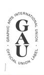 Union label by Graphic Arts International Union