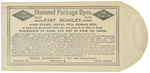 Diamond Packaging Dyes by Wells & Richardson Company