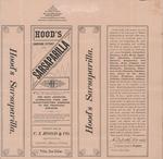 Hood's Sarsaparilla by C.I. Hood & Company