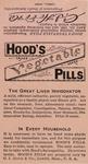 Hood's Vegetable Pills by C.I. Hood & Company