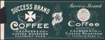 Success Brand Coffee by C.A. Cross & Company