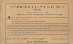 Eureka Fly Killer by James H. Ames & Company