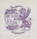 Foot Glove (winged lion) by Ara Cushman Company