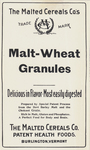 Malt-Wheat Granules by The Malted Cereals Company
