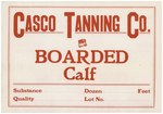 Boarded Calf by Casco Tanning Company