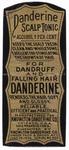 Danderine Scalp Tonic by Knowlton Danderine Company