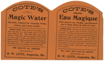 Magic Water / Eau Magique by Benjamin W. Cote