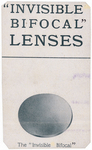 Invisible Bifocal Lenses by Andrew J. Lloyd & Company