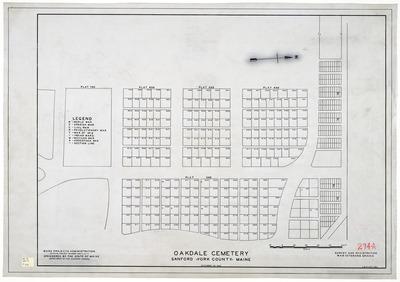 Oakdale Cemetery (A), Sanford, ME