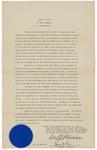 Proclamation Regarding Registration Day by Carl E. Milliken
