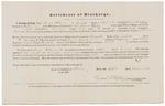 Certificate of Discharge - Kilgore, Moses