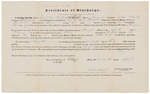 Certificate of Discharge - Ingalls, Jacob Jr.