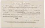 Certificate of Discharge - Harreman, Joab by Nathan Ellis Jr.