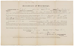 Certificate of Discharge - Cook, Eli by James Dunning