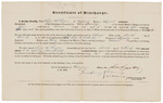 Certificate of Discharge - Googins, Rufus B. by James Dunning