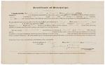 Certificate of Discharge - Newbit, Alden