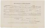 Certificate of Discharge - Ginn, Caleb
